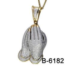 Colgante de configuración de joyería de plata 925 (S-6182)