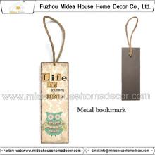 Handmade Coruja Style Metal Bookmarks Atacado