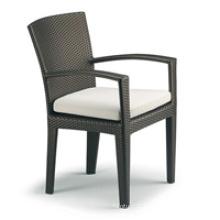 Hot sale Outdoor All Weather black garden chair