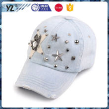 New and hot simple design worn-out cowboy cap and hat for wholesale
