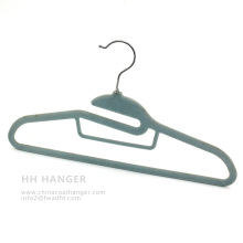 Cheap Velvet Hanger, T-Shirt Flocked Hanger, Save Space Plastic Hanger