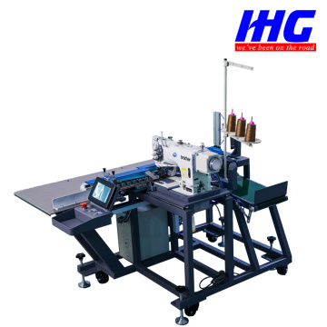IH-8720C-005 Autonmatic Pocket Hemming Machine (Lockstitch)