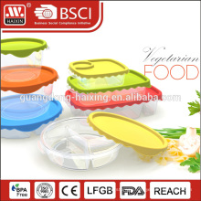 multi size tin transparent clear plastic food packaging box