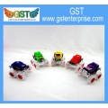 Translucent Big Wheel Pull Back Race Cars