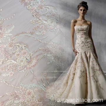 Pekerjaan Tangan Beaded Bridal Dress