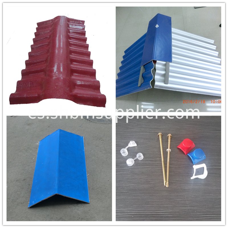 Non Asbestos Roof Materials MgO Heat Insulation Tile