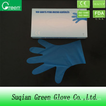 Blue Laboratory Soft TPE Glove