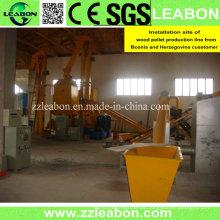 800-1000kg / H Línea de producción de biomasa de pellets de madera