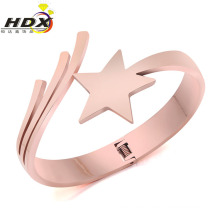 Fashion Jewelry Stainless Steel Five-Pointed Star Bracelet