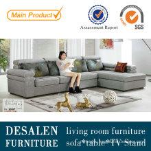 Modern Dubai Fabric Sofa with Adjustable Headrest (2039)