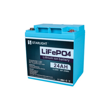 Remplacement de batterie lithium-ion 12V 24AH LiFePO4