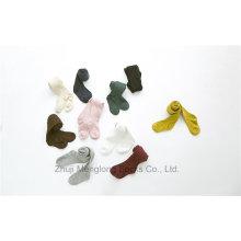 Estilos básicos de invierno estilo Kid sólido algodón medias desgaste exterior y las instalaciones