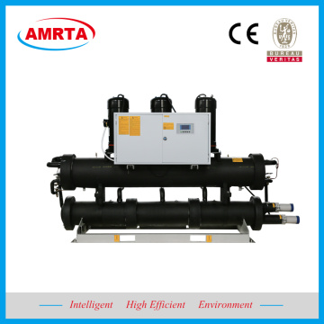 Ang Brine Water Cooled Scroll Chiller na may Heat Recovery
