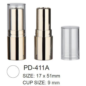 Round Plastic Cosmetic Lipstick Package
