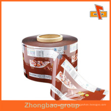 Printed Heat Plastic PET Shrink Sleeve Label Rolling For Bottle From Guangzhou Factory