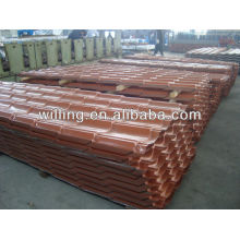 Color coated metal roofing tile sheet roof tile YX28-207-828