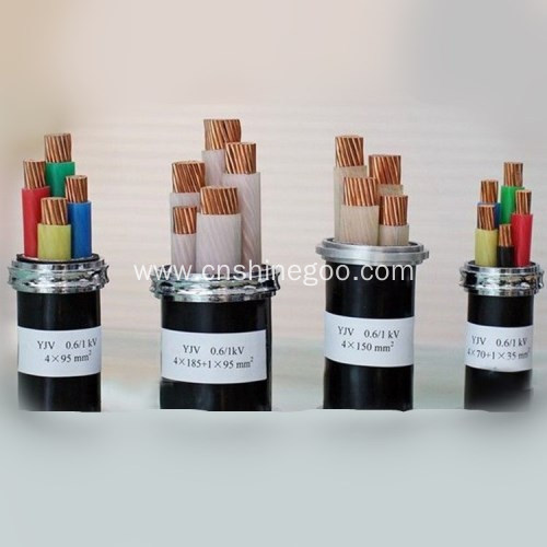 0.6/1kV PVC steel armored fire-resistant power cable