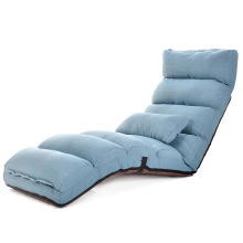 Adjustable Living Room Legless Lie Single Sofa Bed\Leisure Modern indoor Fabric Material Comfortable Chair Style Sofa
