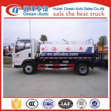 5000 litros HOWO camiões-tanque de água preço