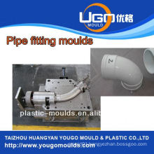 Plastic mold supplier for standard size pp pipe fittings mould in taizhou China