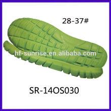 SR-140S029 nuevo tamaño de los niños Suela suave eva del phylon