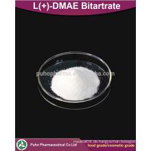 L (+) - DMAE Bitartrat Pulver kosmetische Qualität / Lebensmittelqualität