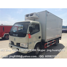 Made in China DFAC 3-5 tons refrigerator van truck for meat and fish sale in sharjah