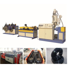 PVC/PE Single Wall Corrugated Pipe Extrusion Line/extruding machine/plastic machinery