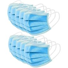 Disposable 3-Layer Protective Earloop Face Masks