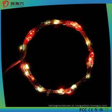 Luzes de corda de fio de cobre