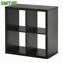 Modern fashion style wooden bookcase wall