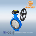 ggg40 butterfly valve EPDM seal wafer DN300 butterfly valve gg25 double offset gear box butterfly valve