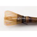 Long-stem Purple Bamboo Matcha or Coffee Whisk