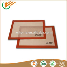 2015 Nouveaux tapis de cuisson silicone silicone résistant à la chaleur et personnalisés
