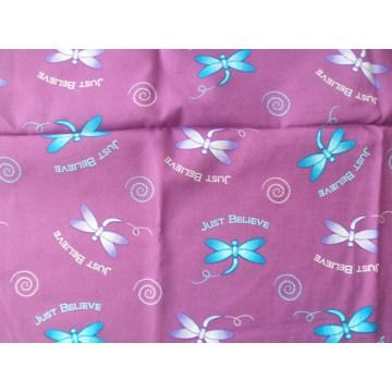 Cotton Reactive Printed Plain Weave Fabric