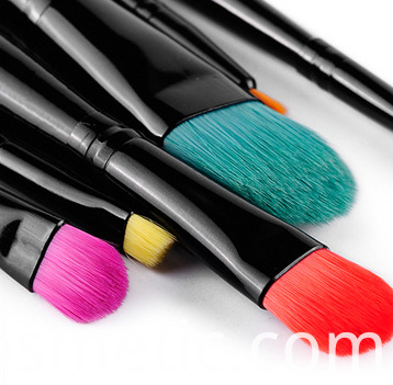 Double head makeup brushes