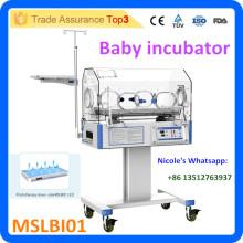 MSLBI01-i prix de l'incubateur pour bébé à l'hôpital