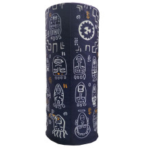 Custom 100% polyester sublimation printing seamless tube bandana for adult