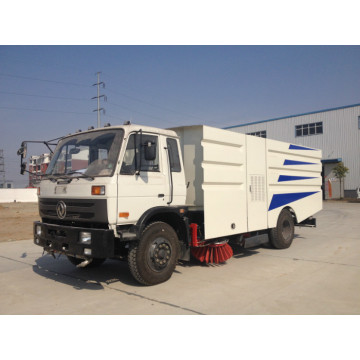 Caminhão de lixo 4x2 Road Sweeper Machine