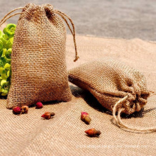 bolsas de juta com cordão ecologicamente corretas com impressão personalizada
