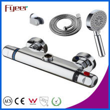 Misturador de fumaça de chuveiro termostático Fyeer com cabeça de chuveiro de mão