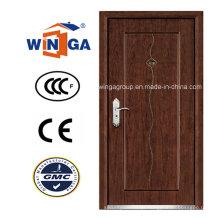 Ce para Europ Mdfveneer Steel Wood Security Armored Door (W-A5)