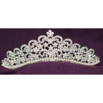 2015 Новый дизайн Кристалл новобрачных Корона Rhinestone Свадебная диадема