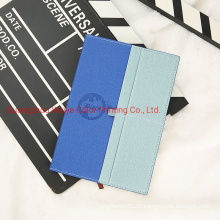 China Manufacturer Custom PU Leather Promotion Gift Paper Diary