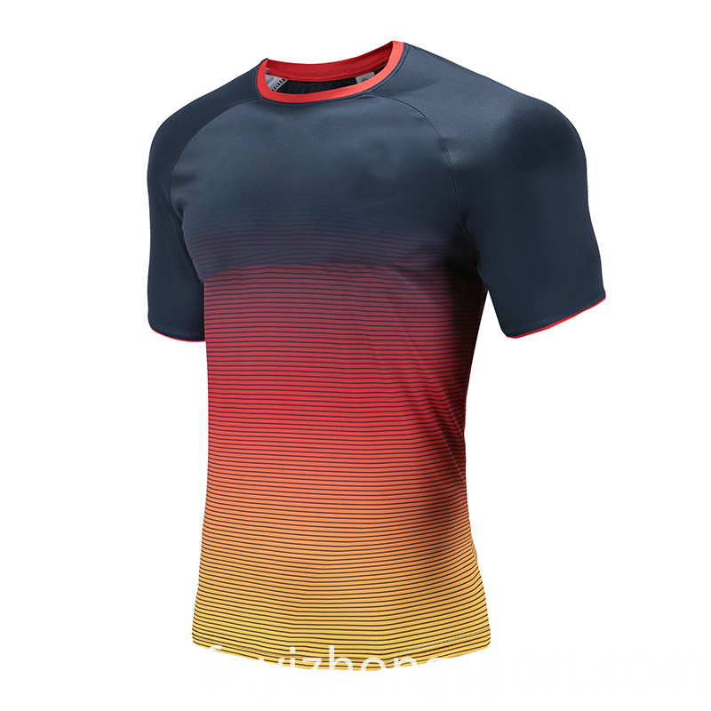 Customized Mens Rugby Wear T Shirt