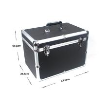 Caja de herramientas de aleación de aluminio personalizable (450 * 330 * 145 mm)