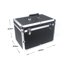 Customizable Aluminum Alloy Storage Box (450*330*145 mm)