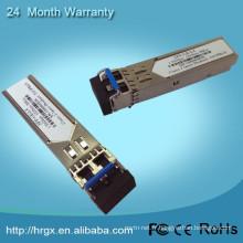 1.25g unique fibre monomode bidi wdm sfp module 10g cuivre sfp avec ddm fonction fibre optique émetteur-récepteur oem usine