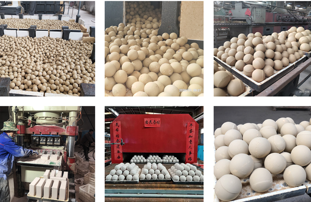 Alumina Brick Ceramic Ball Mill Grind