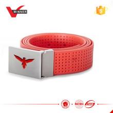 Custom metal Buckle silicon belt